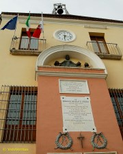 The local town hall in Frosinone.