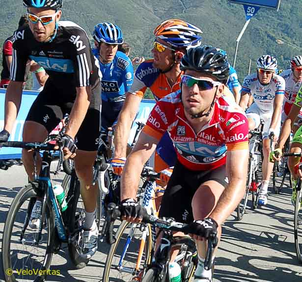 Cav knows how to ride in the autobus to get the stage done with energy to spare.