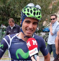 Francisco Ventoso won a Giro stage last year, out dragging Ale Jet - and added to it this year, staying upright in the madness into Frosinone.