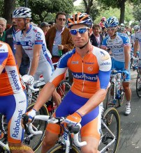 Mark Renshaw - when he was with Cav at HTC he was the 'best lead out man in the world.'