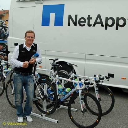 Jens Heppner was surprised to be interviewed.
