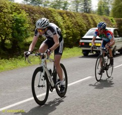 Lap 11: Alistair Rutherford and Jamie Kennedy (Glasgow Couriers).