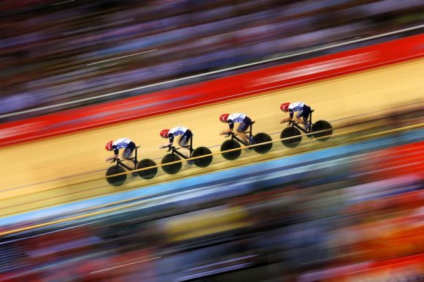 Mens Team Pursuit Olympics London