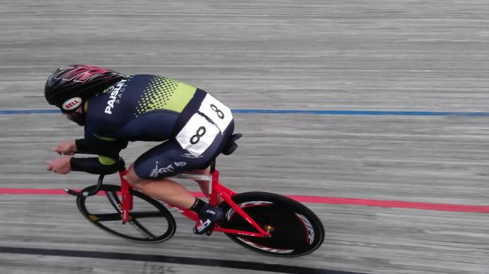 Ben sees his biggest wins on the track. Photo©Paisley Velo