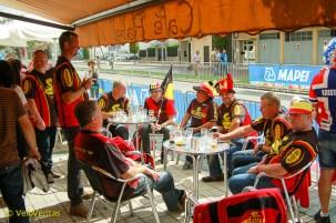 Belgian Fans.