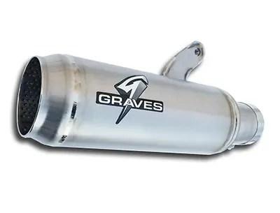 Graves Motorsports Yamaha R1 Moto1 Cat Back Exhaust