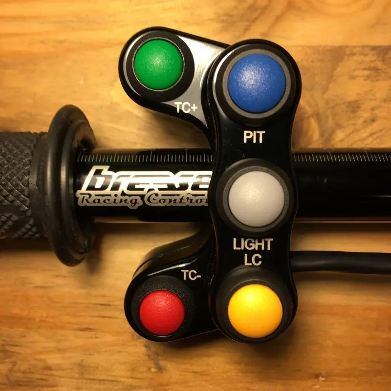 Breese Racing Controls Yamaha R6 '17 Flash Tune ECU LHS 5 Button Race  Handlebar Switch Assembly, Plug and Play
