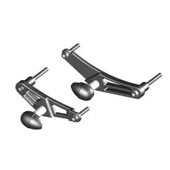 Bullet Frame Slider - COMPLETE SET Left & Right Side - STREET FS-675-2006-CS-S