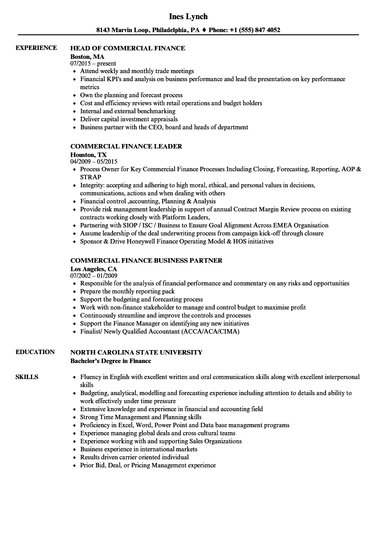 Accounting Intern Resume