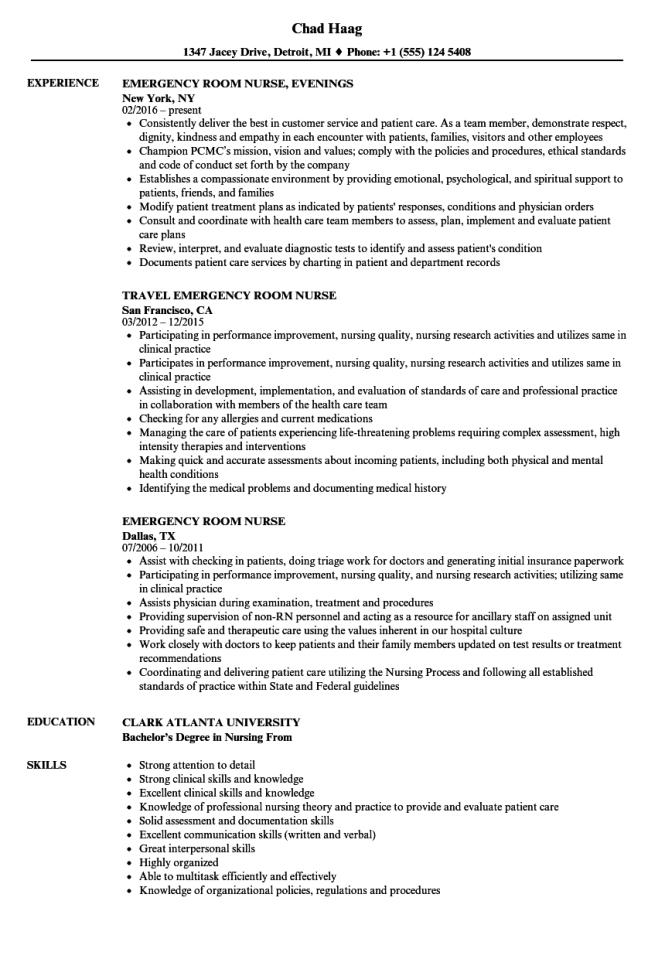Professional Nursing Resume - Resume Sample