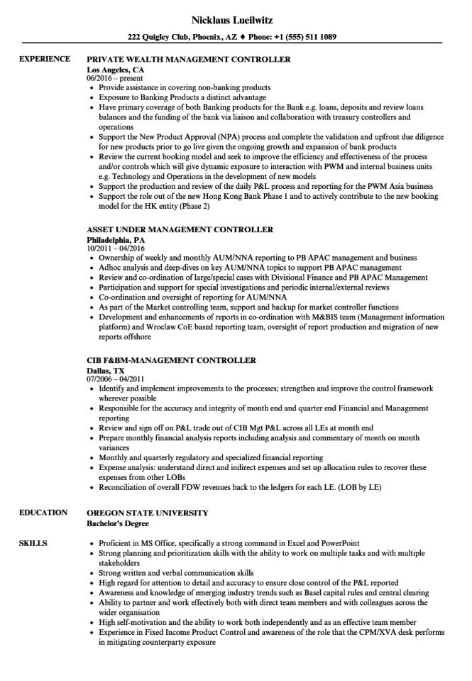 Offshore Resume Samples - Resume Sample