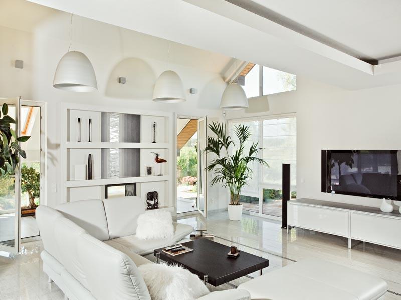 white polished tiles for floor
