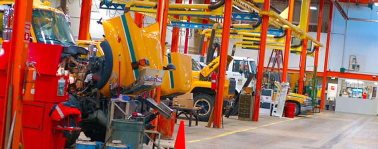 Image showing VEMA repair facility services bays