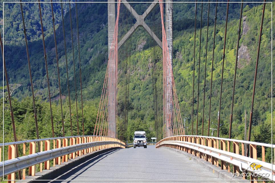 Foto 19 - Ponte sobre o Lago Yelcho em Puerto Cárdenas