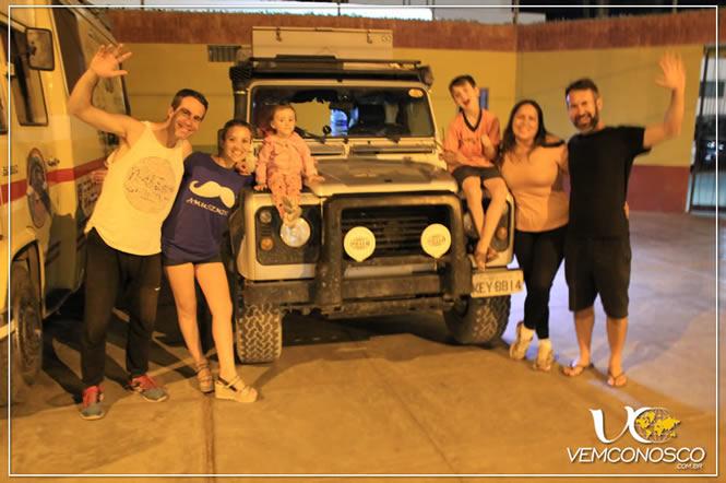Família Viajera, amigos argentinos a caminho do México