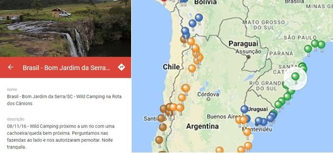 Mapa com Localização - Clique Veja Como Funciona