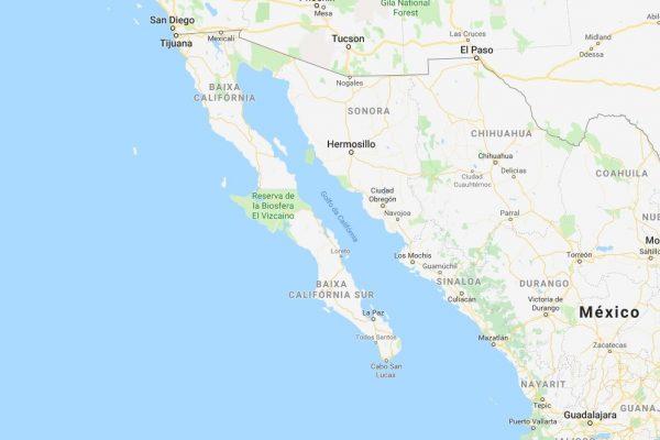 2 - Mapa Baja Califórnia