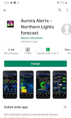 aurora alerts - app