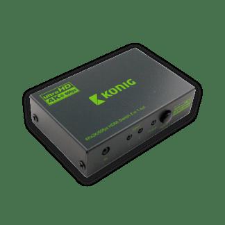 König 2 port 4K HDMI Kytkin