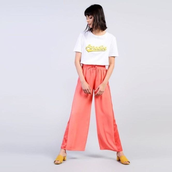 GLAMOROUS široké kalhoty ? XS