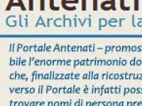 Antenati : le portail des archives italiennes
