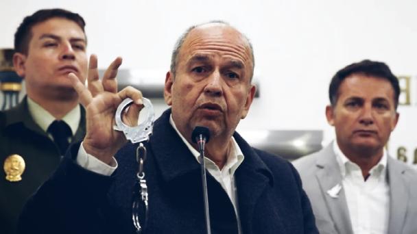 El intocable Arturo Murillo, ahora preso