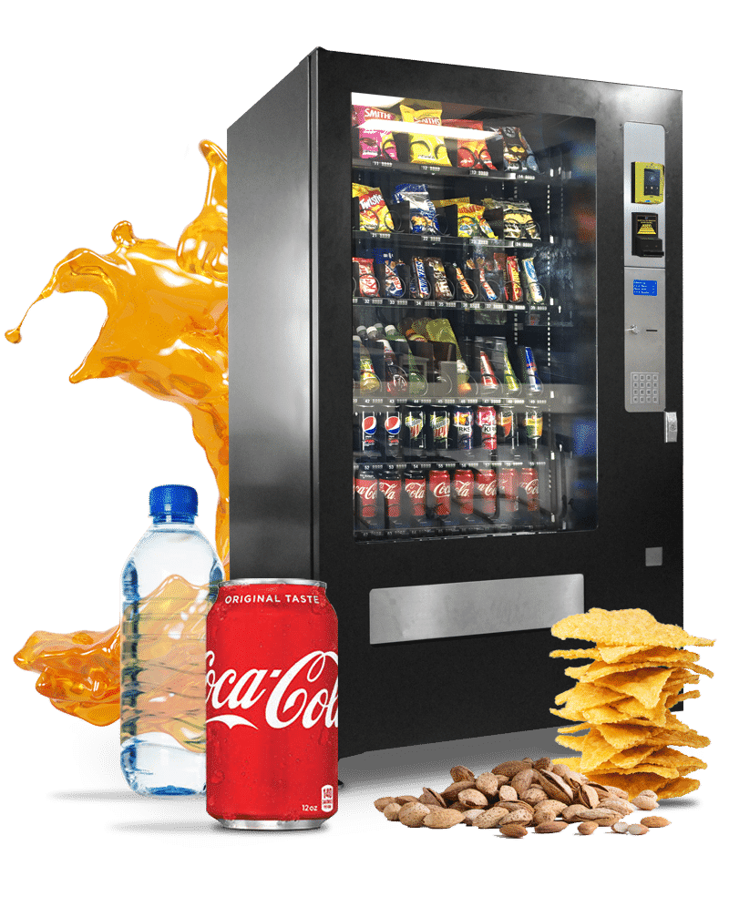 Fully stocked Vending Machine for your workplace