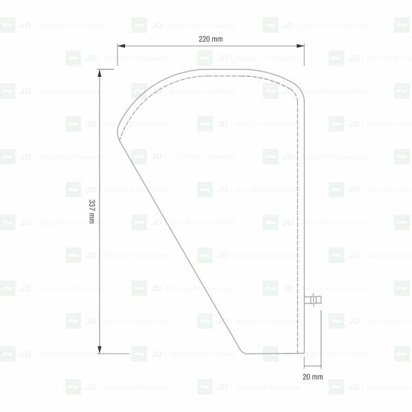 Escamas compatibles con máquinas de vendimiar Alma (500306, 500305)
