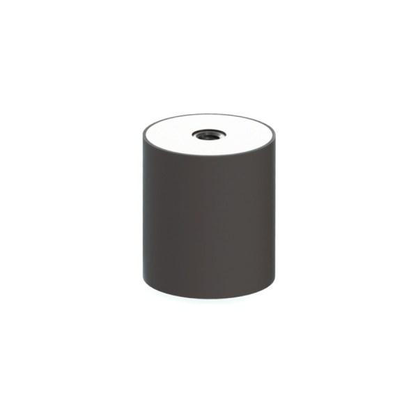 Silentblock adaptable a vendimiadoras Alma. Adaptable a:Máquinas de vendimiar Alma. Medidas:40 x 45 mm / M8. ALM-SK01