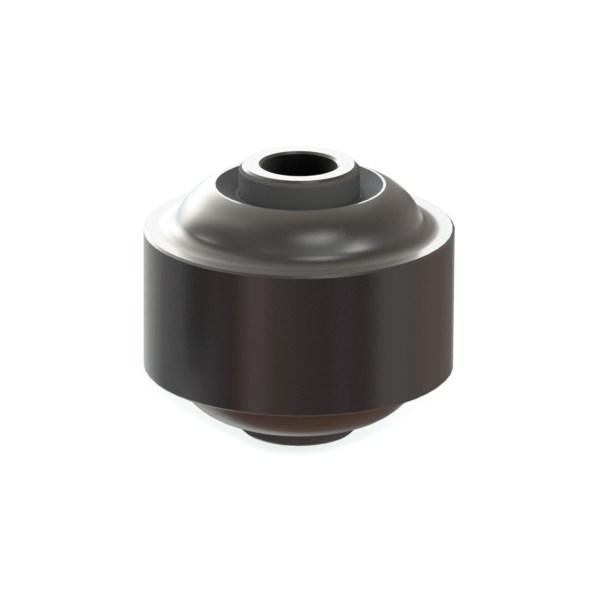 Silentblock elíptico adaptable a vendimiadoras Gregoire. Adaptable a:Máquinas de vendimiar Gregoire. Máquinas:025011. Medidas:16 x 65 x 60 mm. GRE-SK04