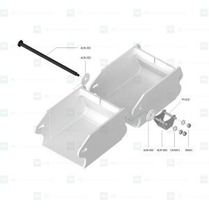 Kit adaptable para sustitución del sistema de arrastre Alma ALM-534
