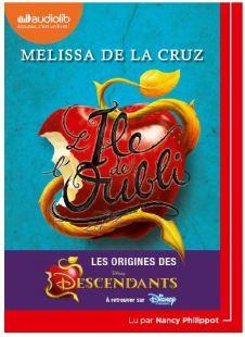 Couverture de l'ile de l'oubli de Melissa de la Cruz