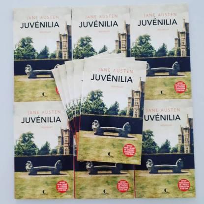 couverture de Juvenilia de Jane Austen