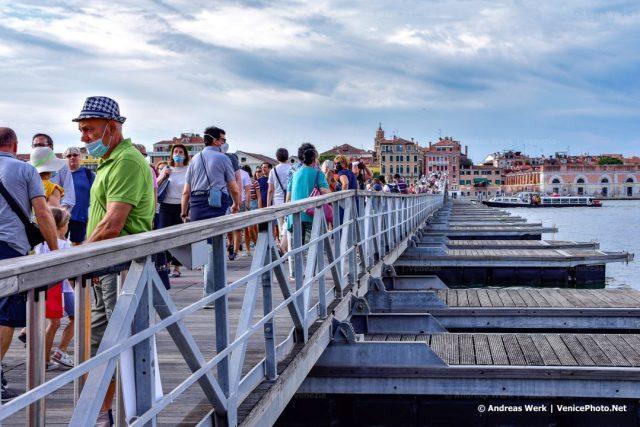 Eine der Attraktionen beim jährlichen Redentore-Fest in Venedig.