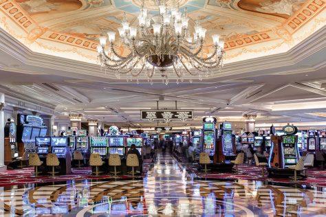 The Venetian Casino Floor