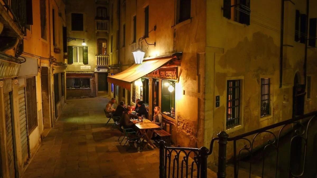 Ristoranti (ni) romantici a Venezia