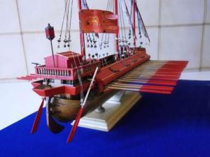 La galeazza di Francesco Duodo alla battaglia di Lepanto.