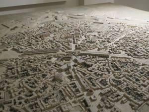 plastico della città veneziana