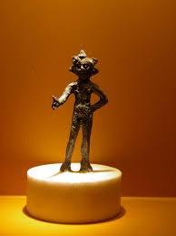 da web: Statua in bronzo di Belenus, fine del 1 ° secolo a.c., all'inizio del 1 ° secolo dC, Emona attuale Lubiana.