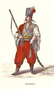 il carabiniero guardia del corpo dei Morosini