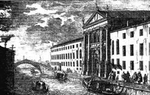 ospedale dei Mendicanti, riprodotto da Luca Carnevaijs