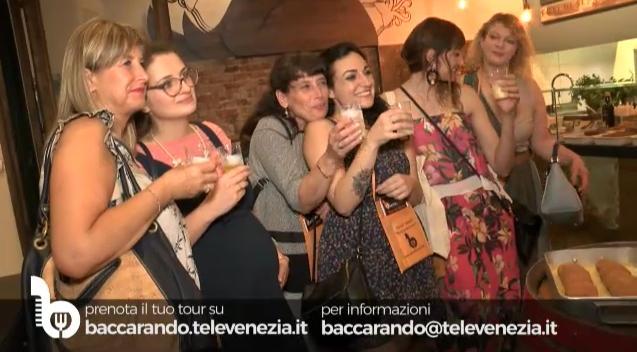 Filmato Tour dei Bacari Baccarando Ticket