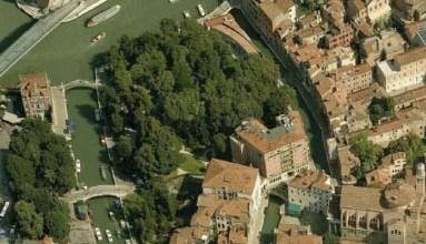Giardino Papadopoli nel sestiere di Santa Croce