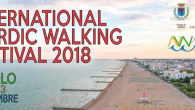 Sale il fermento per XI° International Nordic Walking Festival