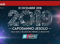 Capodanno a Jesolo 2019: conto alla rovescia per #Hashtag
