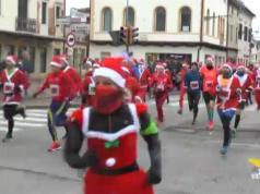 Corsa dei Babbi Natale di Noale oltre 2000 partecipanti