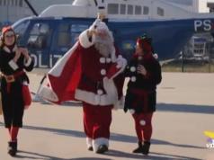 Festa di Natale al X Reparto Volo della Polizia di Stato