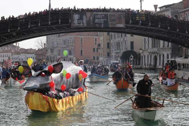 Carnevale di Venezia 2019: La Festa Veneziana sull'acqua