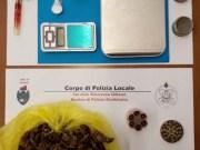 Spacciatore arrestato nella sua abitazione di corso del Popolo