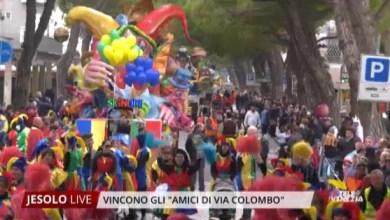 Amici di via Colombo vincono il 65° Carnevale Jesolano